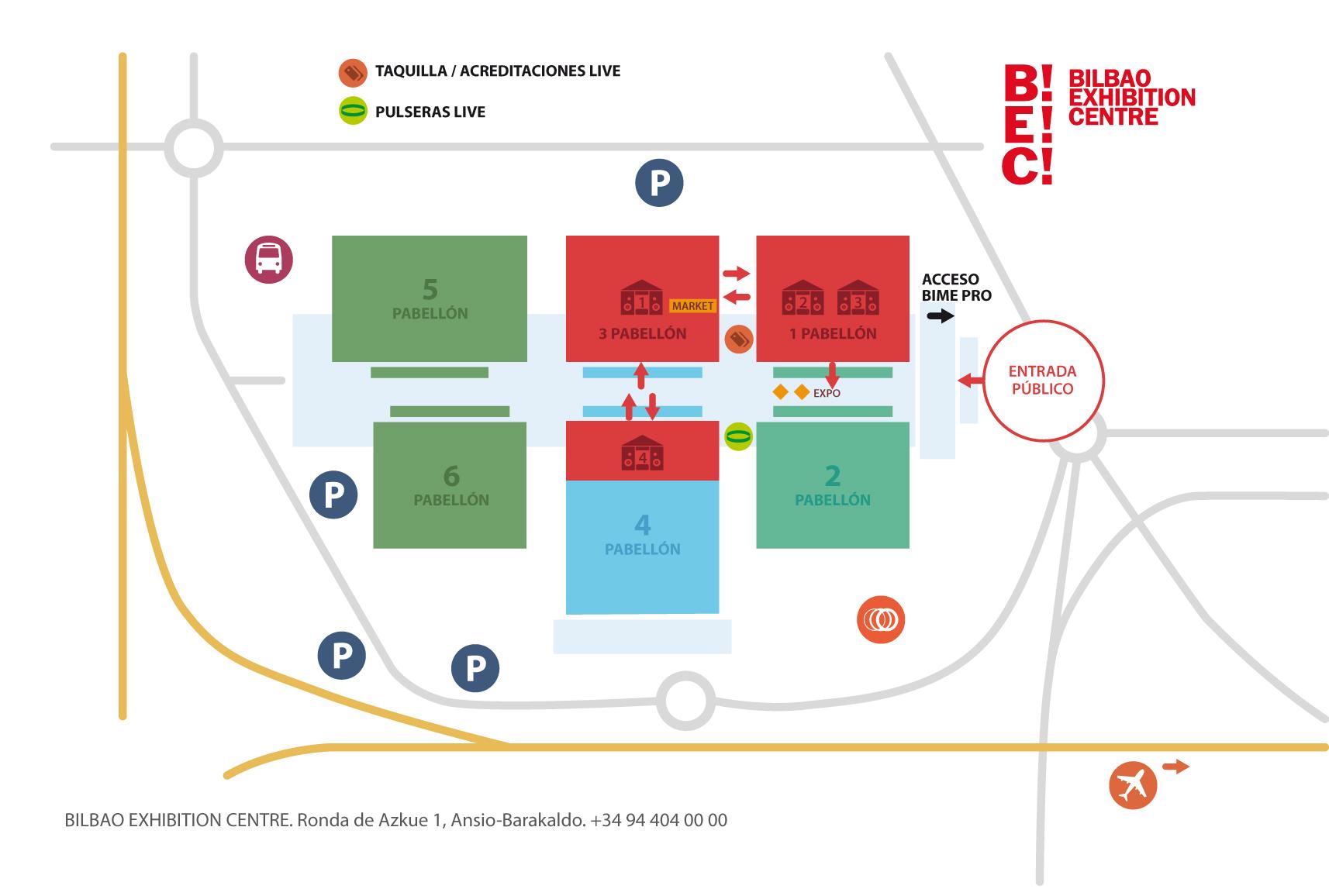 Mapa BEC!